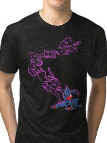 Fighting Dart Frog Tri-blend T-Shirt