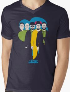 From Mr. chips to Scarface Mens V-Neck T-Shirt