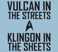Vulcan in the streets Klingon in the sheets by funkybreak