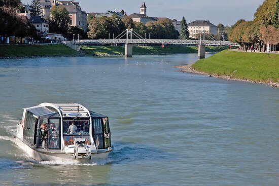 Salzach Cruise by phil decocco