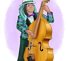 Thackery Upright Bass by mishy-belle