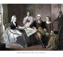 Washington And His Family by warishellstore