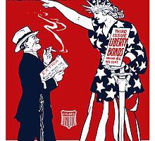 Lady Liberty War Bonds  by warishellstore
