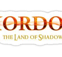 Full Color Mordor Logo Sticker