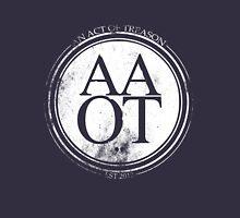 "AN ACT OF TREASON Limited Edition ""Broken Crest"" Navy Blue T-shirt Unisex T-Shirt"