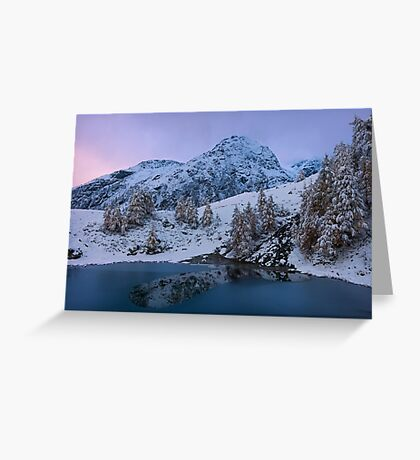 Top of the Lake Greeting Card