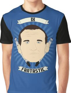 Doctor Who Portraits - Ninth Doctor - Fantastic Graphic T-Shirt