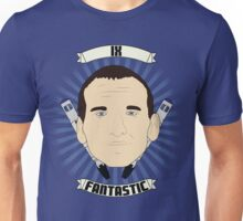 Doctor Who Portraits - Ninth Doctor - Fantastic Unisex T-Shirt