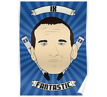 Doctor Who Portraits - Ninth Doctor - Fantastic Poster