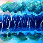 Daytime mangroves by Mark Malinowski