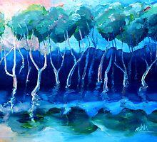 Daytime mangroves by Mark Malinowski