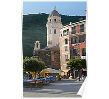 Small town in Italy Poster