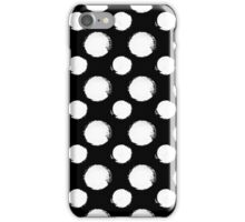 Seamless dot pattern iPhone Case/Skin