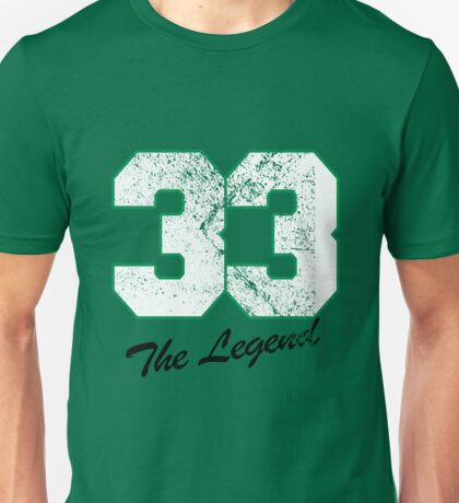 Celtics Number - No. 33 Unisex T-Shirt