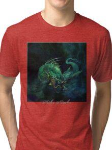 swamp dragon Tri-blend T-Shirt
