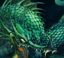 swamp dragon Sticker