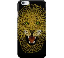 Leopard - Sketch - Color iPhone Case/Skin