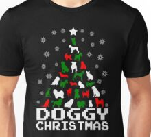 Doggy Christmas Tree Unisex T-Shirt