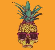 Pineapple Skull by Bukstarr