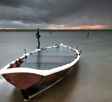 Run aground at Chesil by Chris Frost Photography