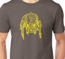 One Line Predator Portrait (Yellow) Unisex T-Shirt