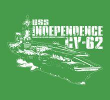 USS Independence CV-62 Baby Tee