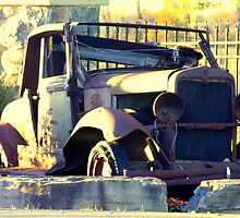 A Jalopy.. by Larry Llewellyn