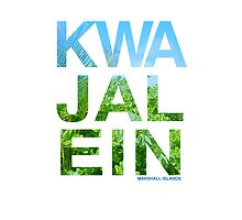 Kwajalein (Device Case - White) by aeng104