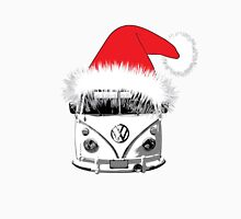 VW Camper Christmas hat Unisex T-Shirt
