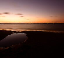 Rockpool Sunset by artistrobd