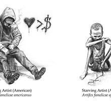 Starving Artists by Alexander Bowden