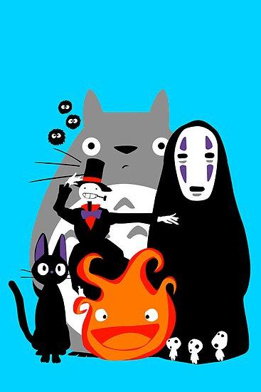 Ghibli'd Away by Chloe Morris
