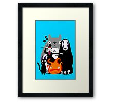 Ghibli'd Away Framed Print