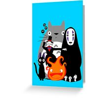 Ghibli'd Away Greeting Card