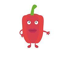 Red Capsicum by ilovecotton