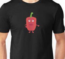 Red Capsicum Unisex T-Shirt