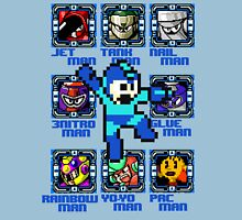 Mega Man NES Nintendo 8-Bit  Unisex T-Shirt