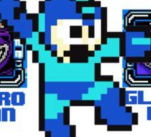 Mega Man NES Nintendo 8-Bit  Sticker