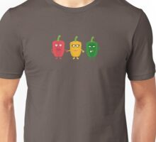 Three Capsicums Unisex T-Shirt