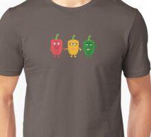 Three Capsicums Unisex T-Shirt