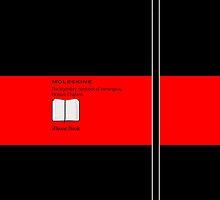 Moleskine Red  by Balugix