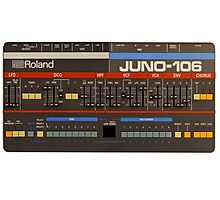 Roland Juno 106 Gear Photographic Print