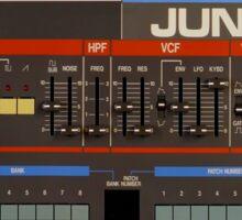 Roland Juno 106 Gear Sticker