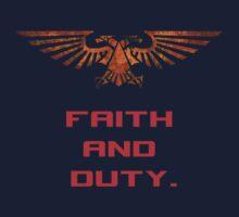 Space Marine - Faith and Duty by cosmicerr0r