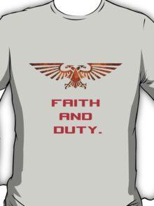 Space Marine - Faith and Duty T-Shirt