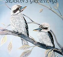 Cool Kookaburras by © Linda Callaghan
