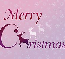 Merry Christmas deer by JayZ99
