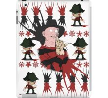 Nightmare On Elm Street Freddy Ugly Holiday X-Mas Design iPad Case/Skin
