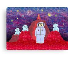Visiting Mars Canvas Print