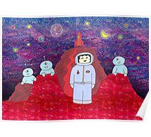 Visiting Mars Poster